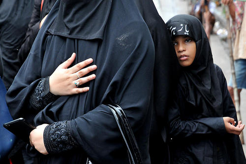 عزاداری شیعیان در کلکته هند و پیشاور پاکستان در روز عاشورا