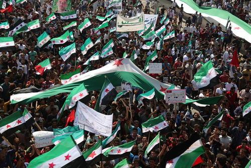تظاهرات ضد حکومتی در شهر