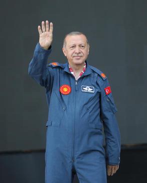 اردوغان در نمایشگاه سه روزه فناوری هواوفضا در فرودگاه جدید در حال ساخت استانبول