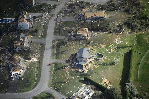 صدمات ناشی از توفان در آنتاریو کانادا