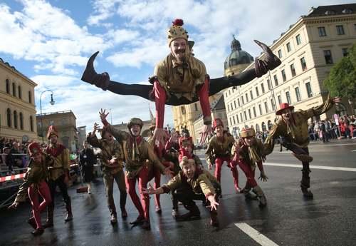 جشنواره اکتبر در مونیخ آلمان