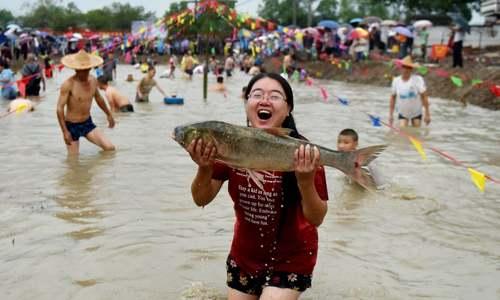 جشنواره ماهیگیری در چین/ شینهوا