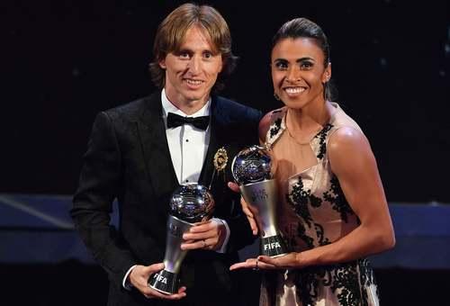 بهترین بازیکنان فوتبال زنان و مردان جهان در سال 2018 به انتخاب فیفا/ خبرگزاری فرانسه