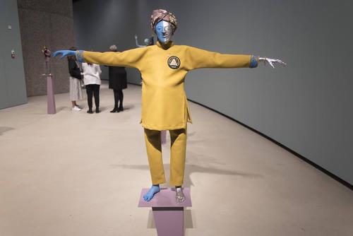 یک نمایشگاه هنری در لندن