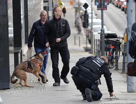 ترتیبات و کنترلهای امنیتی پلیس آلمان در آستانه سفر رسمی رجب طیب اردوغان رییس جمهوری ترکیه به برلین/ خبرگزاری آلمان