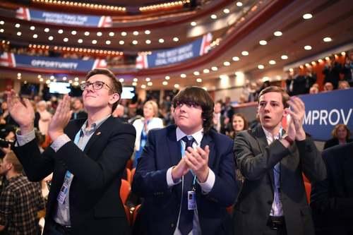 کنفرانس سالانه حزب محافظهکار بریتانیا در شهر بیرمنگام