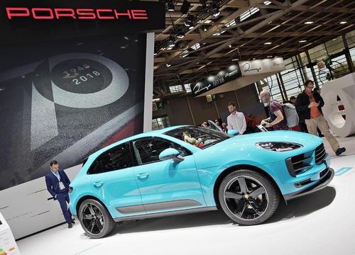 پورشه جدید ماکان در نمایشگاه سالانه خودرو در پاریس