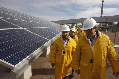 ساخت نیروگاه جدید خورشیدی