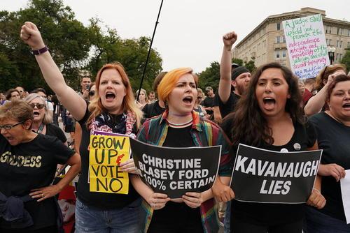 اعتراضات به رای مثبت مجلس سنای آمریکا به انتصاب