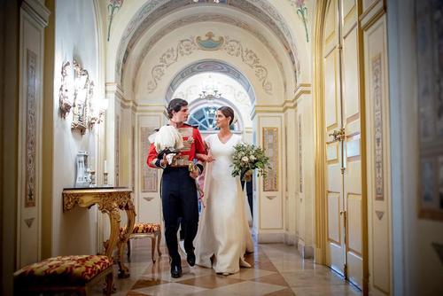 تصویری از یک ازدواج جدید درون خانواده سلطنتی اسپانیا