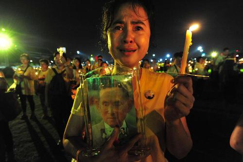 آیین گرامیداشت پادشاه فقید تایلند در شهر بانکوک/ شینهوا