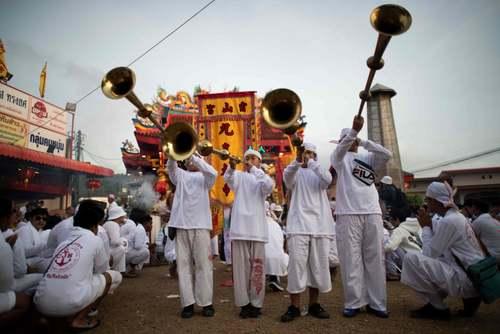 جشنواره سالانه گیاهخواران در پوکت تایلند/ خبرگزاری فرانسه