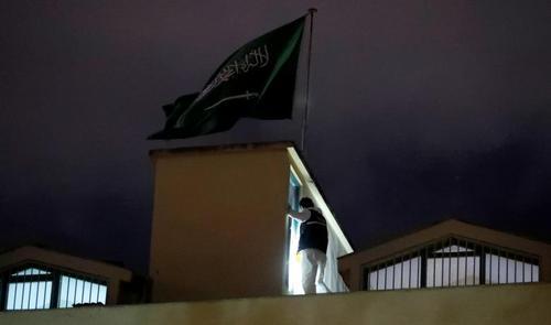 بازرسی هیات تحقیق ترکیهای از کنسولگری عربستان سعودی در شهر استانبول/ رویترز