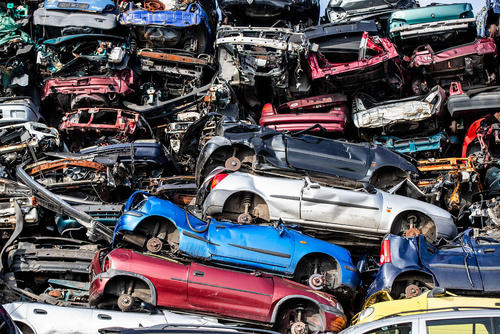 گورستان خودروهای اسقاطی در آلمان/خبرگزاری آلمان