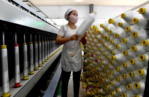 کارخانه نخریسی – چین