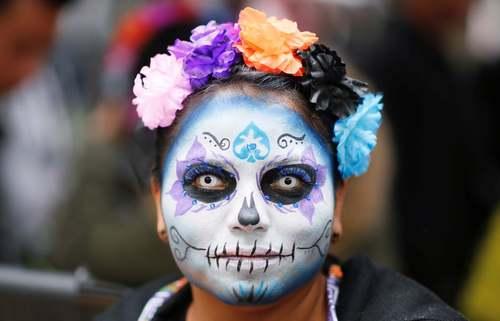 جشنواره مردگان در مکزیک/ رویترز