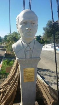 روند حذف کراوات از مجسمه دکتر شریعتی در دانشگاه فرهنگیان ساری