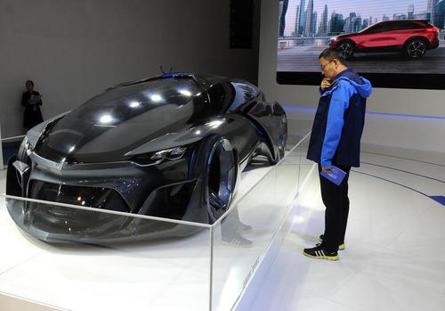نمایشگاه خودروهای پاک و هوشمند در پکن