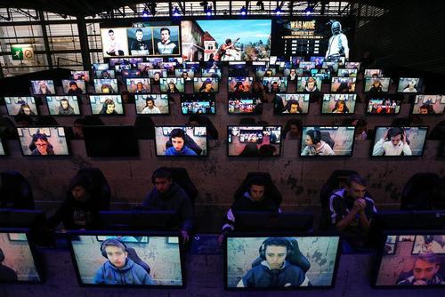 نمایشگاه هفته بازیهای رایانهای در پاریس