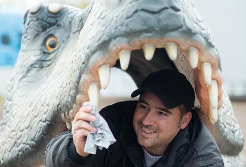 نمایشگاه دایناسور در آلمان/ خبرگزاری آلمان
