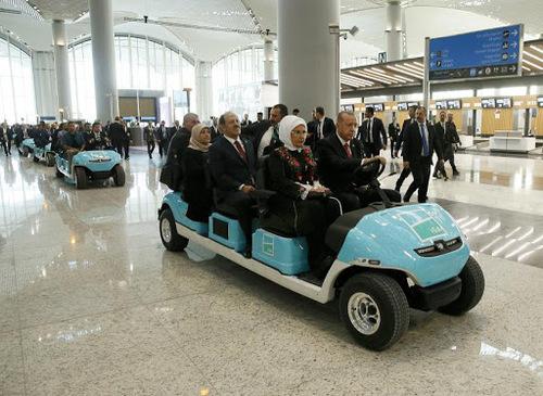 افتتاح بزرگترین فرودگاه جهان در استانبول
