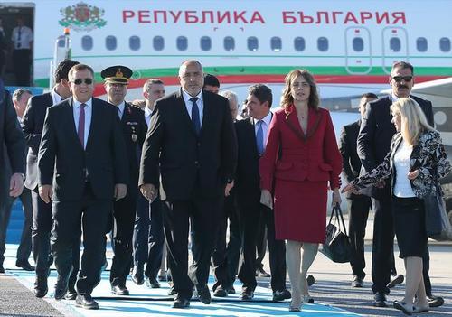 مراسم افتتاح فاز نخست فرودگاه استانبول با حضور اردوغان و جمعی از مقامات خارجی