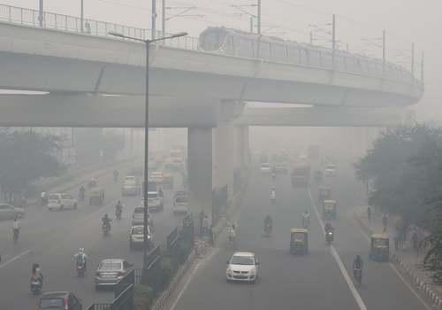 آلودگی شدید هوا در شهر دهلینو هند/ خبرگزاری فرانسه