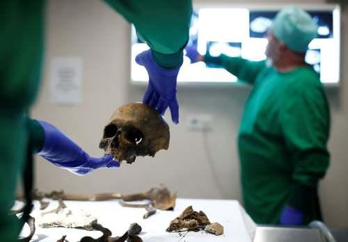 کشف بقایای اسکلت یک سرباز گمنام متعلق به دوران جنگ اول جهانی در فرانسه/ رویترز
