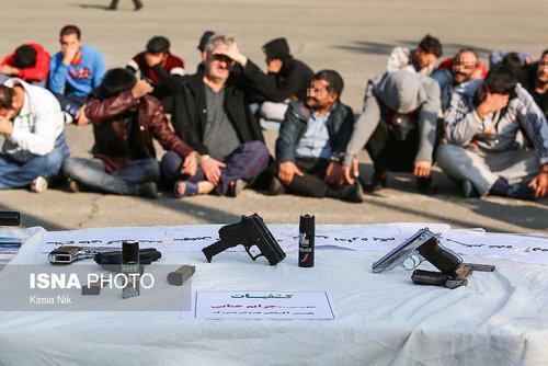 تصاویر/ دستگیری سارقان توسط پلیس پایتخت