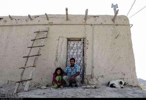 زندگی در روستاهای محروم خراسان شمال+تصاویر