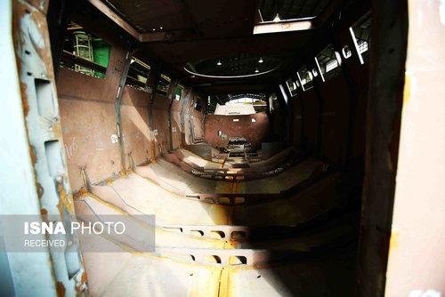 افتتاح خط تولیدخودرو زرهی طوفان (عکس)
