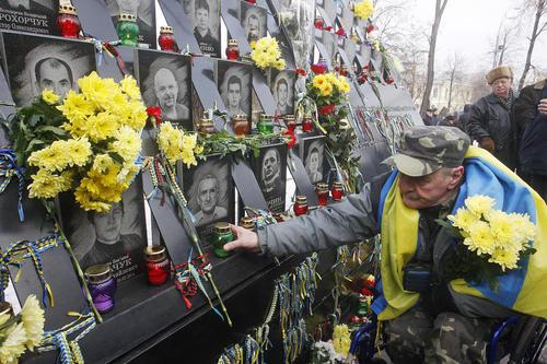 ششمین سالگرد انقلاب غربگرایان در اوکراین/ کییف