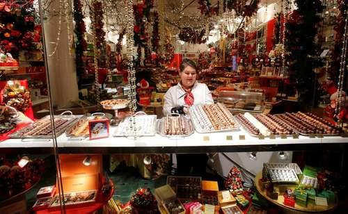 فروشگاه شکلات در زوریخ سوییس/ رویترز