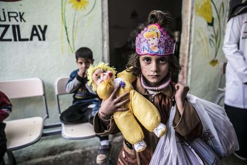 مهد کودک ساخته شده از سوی هلال احمر ترکیه در شهر ادلب سوریه/ خبرگزاری آناتولی