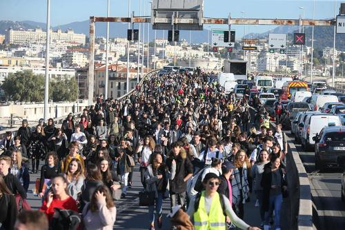 تظاهرات علیه اصلاح نظام آموزشی در شهرهای