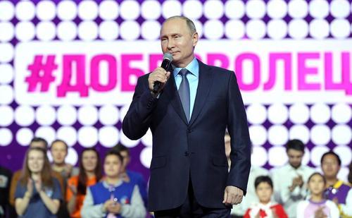 سخنرانی رییس جمهوری روسیه در گردهمایی روز جهانی داوطلبان در مسکو
