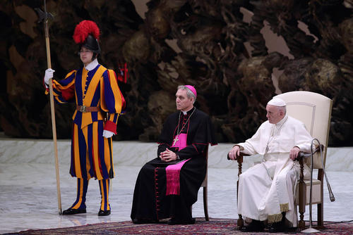سخنرانی هفتگی روز چهارشنبههای پاپ فرانسیس در واتیکان