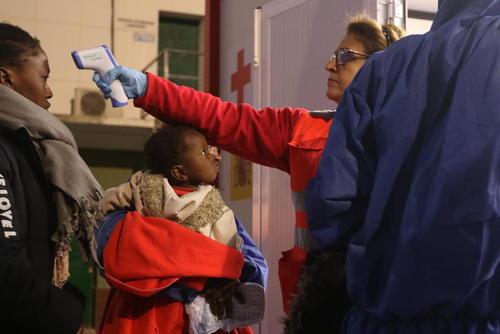 رسیدن یک گروه 239 نفره پناهجویان آفریقایی به بندر