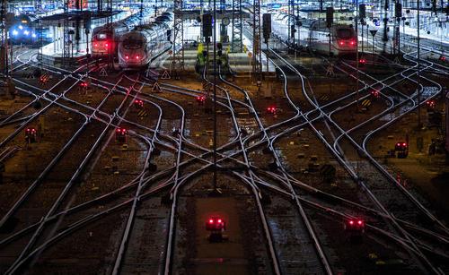 ایستگاه راهآهن شهر مونیخ آلمان/ خبرگزاری آلمان