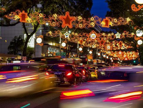 تزیینات کریسمسی در سنگاپور
