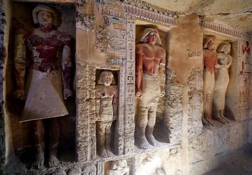 کشف یک مقبره 4 هزار ساله در مصر/ رویترز