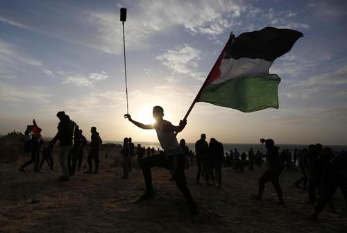 تظاهرات ضداسراییلی علیه محاصره غزه در منطقه