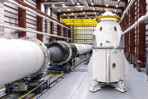 راکتهای فضایی در مرکز فضایی