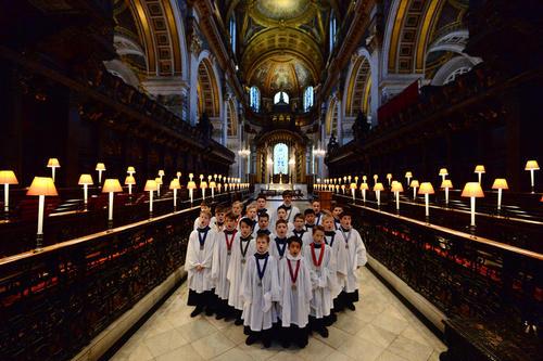 تمرین گروه سرود کلیسای