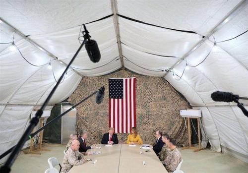 سفر ترامپ و همسرش به عراق