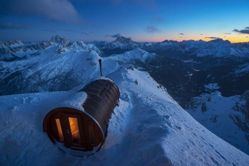 سونایی در ارتفاع 2800 متری در کوه/ عکس روز وب سایت