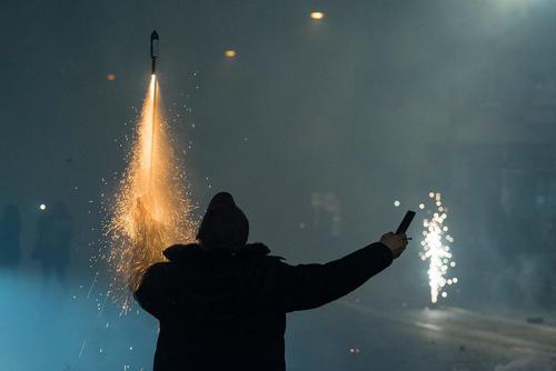 مراسم آتش بازی و جشن شب سال نو در کشورهای مختلف جهان: شهر