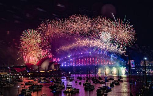 شهر سدینی استرالیا از نخستین شهرهای جهان است که دیروز وارد سال 2019 شد.