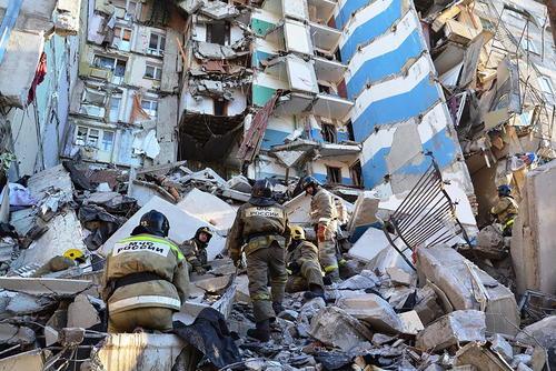 4 کشته در انفجار گاز در ساختمانی در شهر