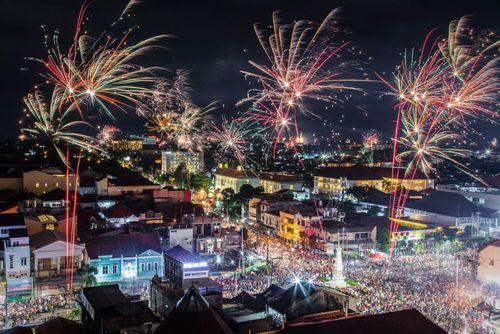 آتش بازی در جاکارتا/ اندونزی